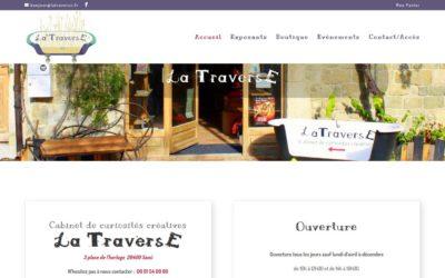LA TRAVERSE et nouveau site de VENTE EN LIGNE